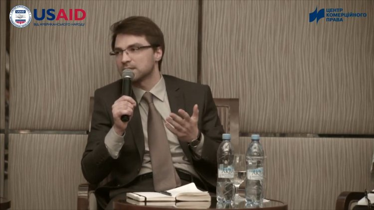 Oleh Gromovyi, GENTLS Law Firm Partner, Spoke at a Conference in Kharkiv on Private Bailiffs